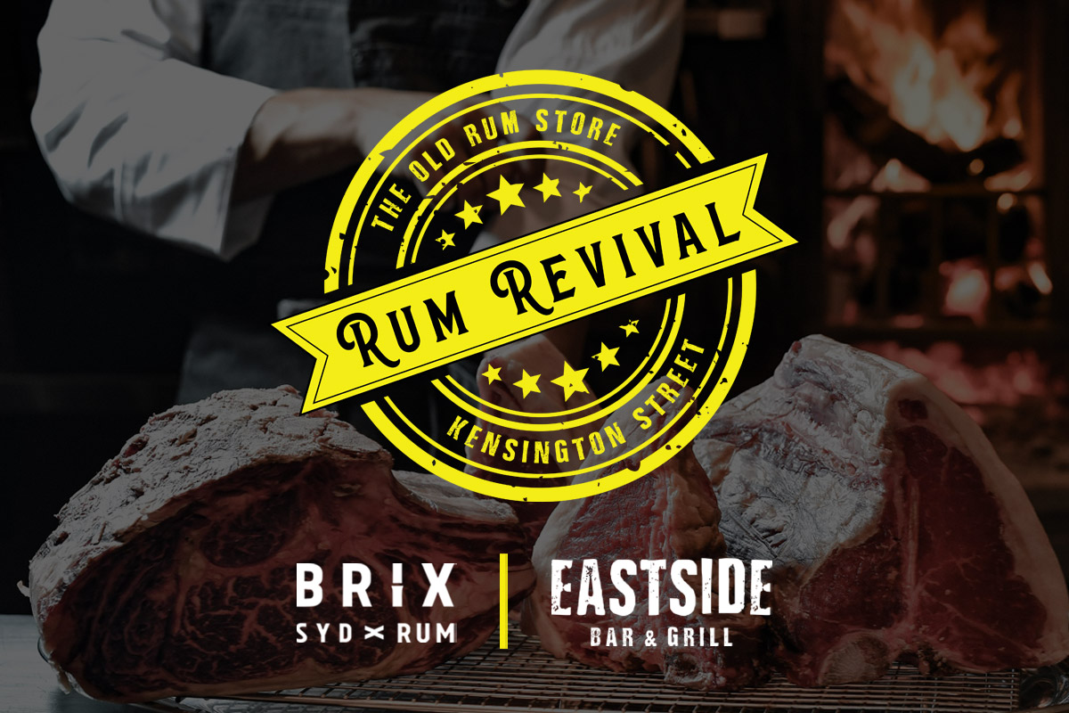 Brix Rum and Beef Masterclass event
